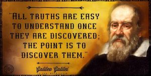 Galileo discover truth quote