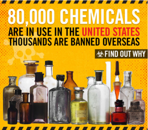 80000 chemicals in use